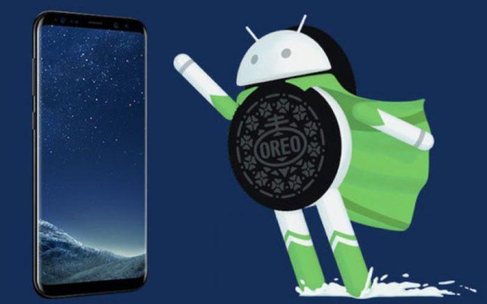 Galaxy S8 e S8+ Wind Oreo