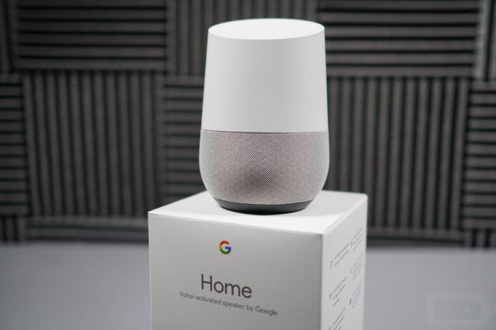 Google Home e Home mini supportano altoparlanti bluetooth