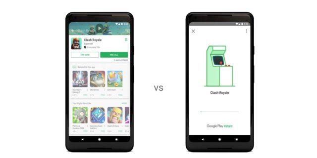 Google Play Instant per provare i videogiochi android prima