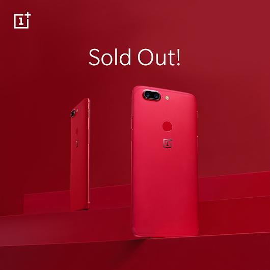 OnePlus 5T fuori Stock negli USA: OnePlus 6 in arrivo molto