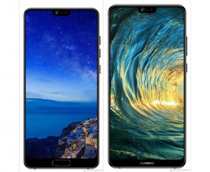 Gamma Huawei P20 rumors prezzi europa