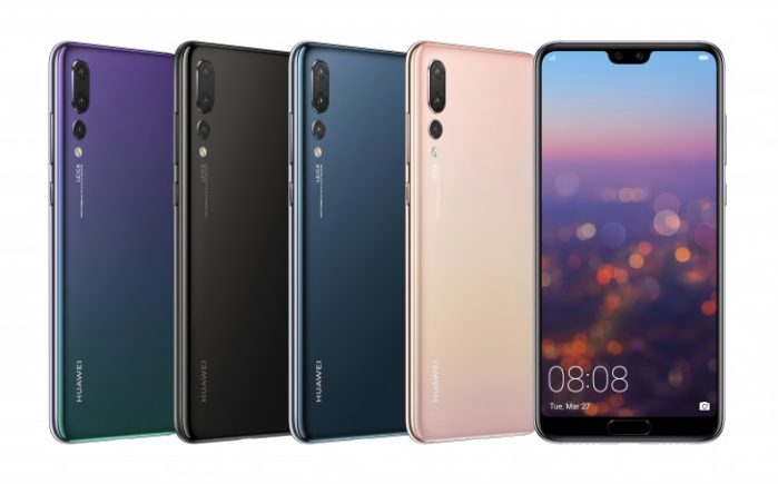 Huawei P20 Pro ufficiale con tripla fotocamera