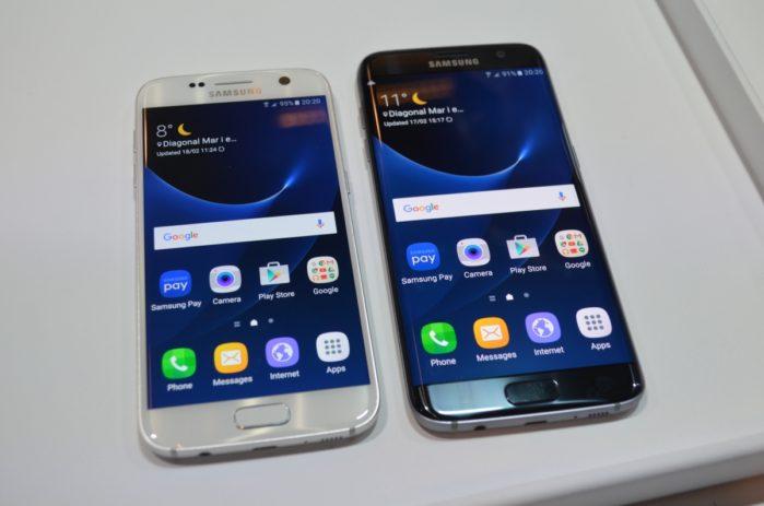 Galaxy S7 e S7 aggiornamento sicurezza patch marzo 2018