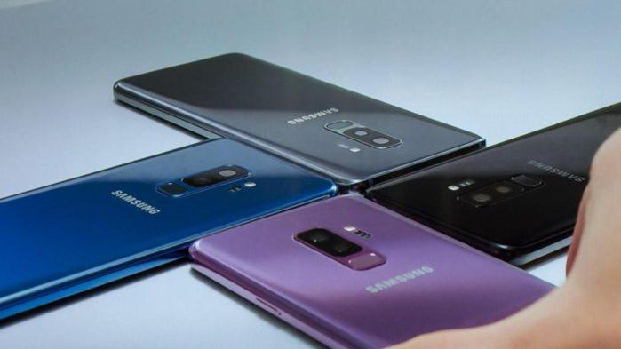 Galaxy S9 resistenza, e Galaxy S9+ teardown