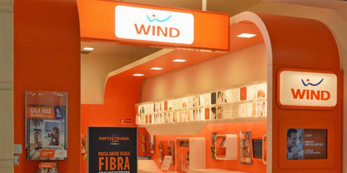 Smartphone con Wind a rate zero