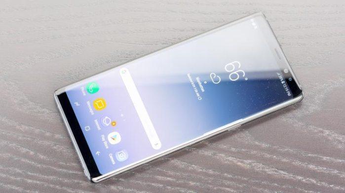 Galaxy Note 8 aggiornamento patch aprile 2018