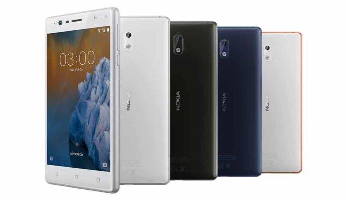 Nokia 3 aggiornamento ad Android Oreo