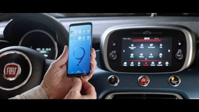 Fiat 500 regala un Galaxy S9