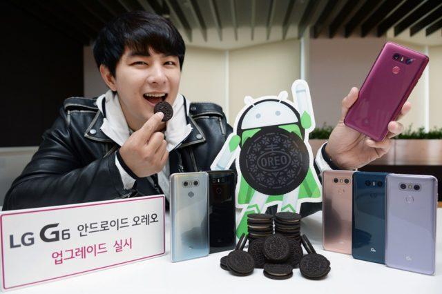 LG G6 l'aggiornamento ad android Oreo inizia lunedì, ma solo