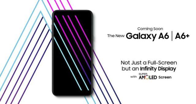 Galaxy A6 e A6 Plus