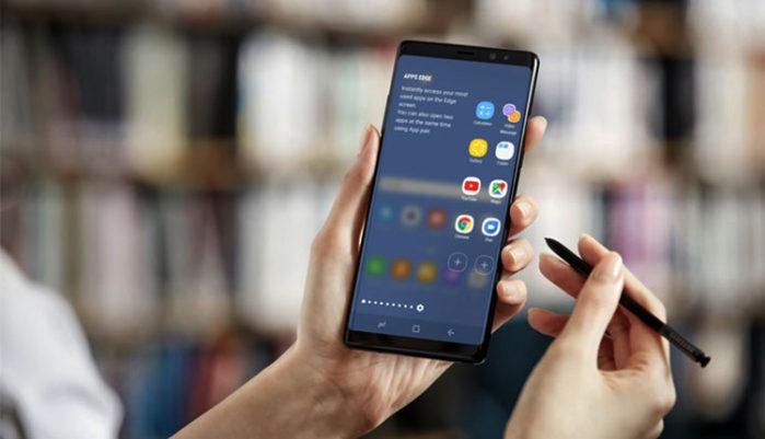 Galaxy S9, Galaxy S8, Galaxy Note 8 aggiornamento App Edge