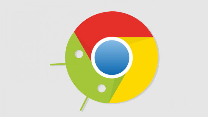 Google Chrome per Android tasto Home
