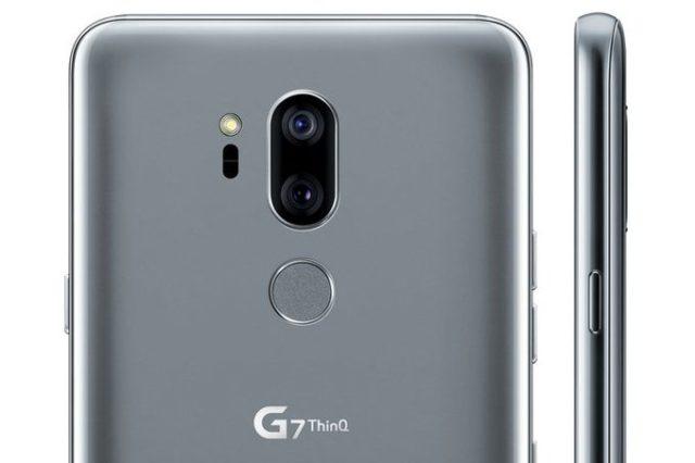 LG G7 ThinQ le immagini render ufficiose