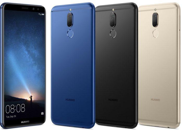 Huawei Mate 10 Lite aggiornamento firmware metà aprile 2018