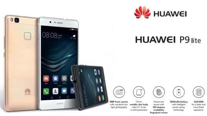 Huawei P9 Lite aggiornamento firmware inizio aprile 2018