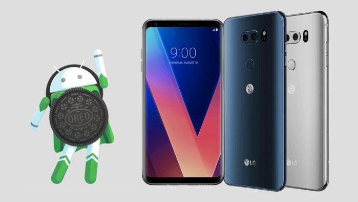 LG V30 aggiornamento Android Oreo con ThinQ