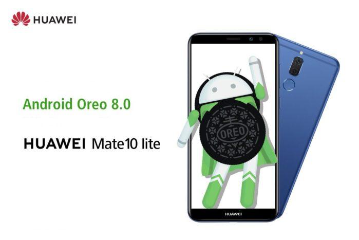 Huawei Mate 10 Lite aggiornamento Android Oreo