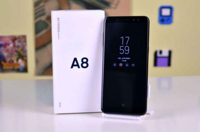 Galaxy A8 aggiornamento firmware Aprile 2018