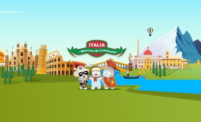 Xiaomi Italia sito web ufficiale