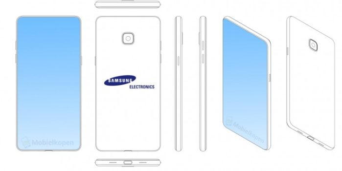 Galaxy S10 rumors sul design