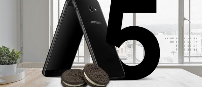 Galaxy A5 2017 Android Oreo