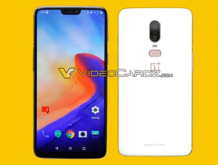 OnePlus 6 variante bianca e video in Super Slow Motion