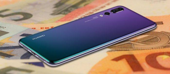 Huawei P20 Pro vende 3x Huawei P10 Plus