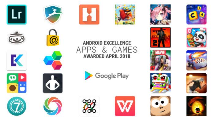 Android Excellence: le migliori App secondo Google
