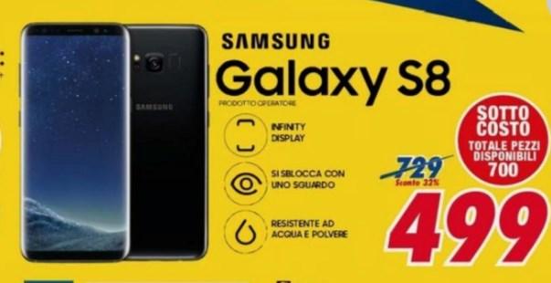 Samsung Galaxy S8 A 399 Euro Il Prezzo Più Basso Di Un
