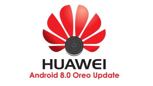 Huawei P9, Honor 8, Honor 6X e Huawei Mate 8 Android Oreo
