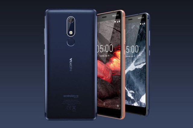 Nokia 5.1, Nokia 3.1, Nokia 2.1 ufficiali