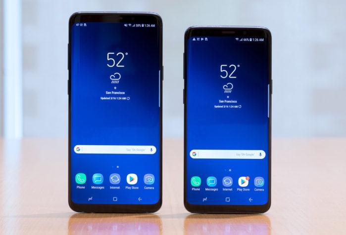 Galaxy S9 e S9+ aggiornamento Android Oreo 8.1 prima di Android P?