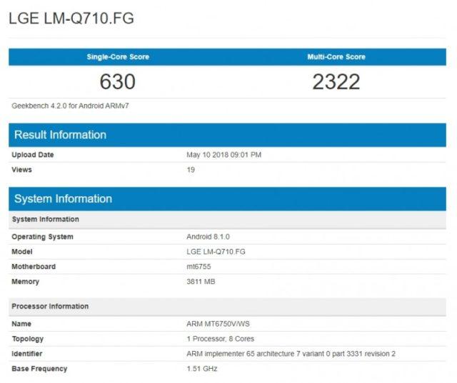 LG V35 ThinQ: niente notch nuove conferme sulle caratteristiche hardware