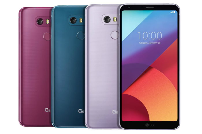 LG G6 arriva Oreo in Corea del Sud