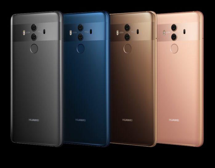 Huawei Mate 10 Pro Face Unlock