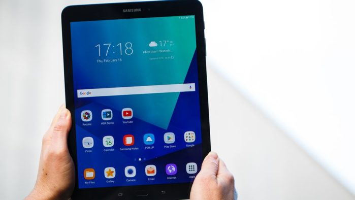 Galaxy Tab S3 Android Oreo