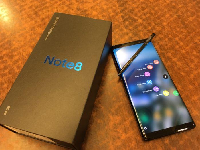 Galaxy Note 8 aggiornamento patch giugno 2018