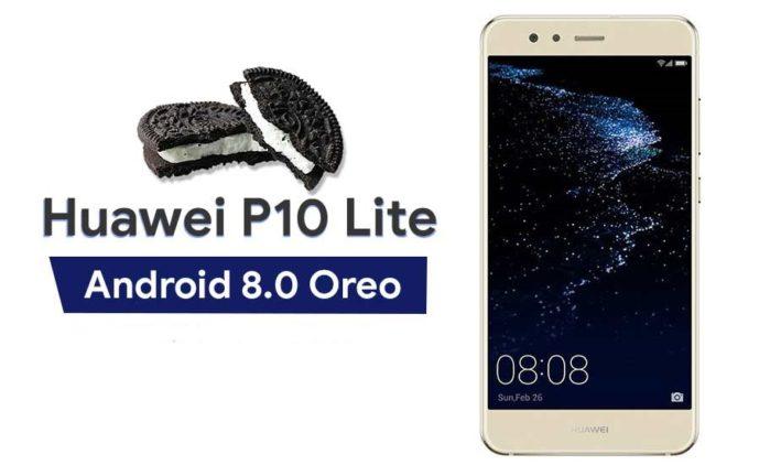 Huawei P10 Lite Android Oreo