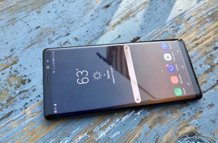 Galaxy Note 8 aggiornamento firmware, Galaxy Note 9 posticipato
