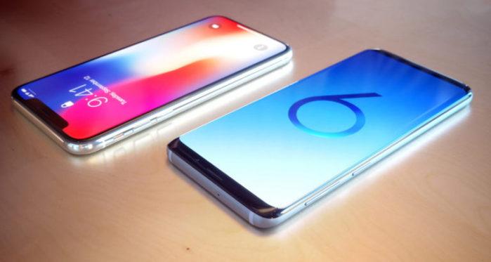 Galaxy S9 supera iPhone X nelle vendite di Aprile 2018