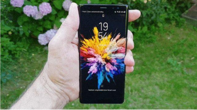 Galaxy S8 e Note 8 arriva il video Lock Screen del Galaxy S9 dopo l'aggiornamento