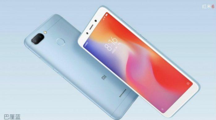 Xiaomi Redmi 6 ufficiale: prezzo e caratteristiche