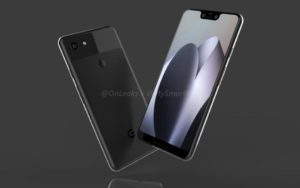 Google Pixel 3 e Pixel 3 XL video e immagini render