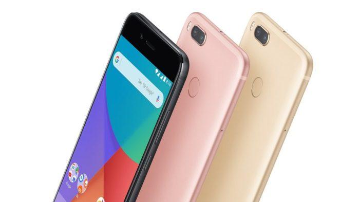 Xiaomi Mi A1 aggironamento Android Oreo 8.1 iniziato