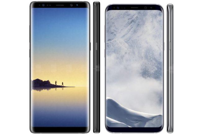 Galaxy S8 e Galaxy Note 8 aggiornamento rotazione home screen