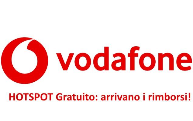Vodafone rimborso spese hotspot