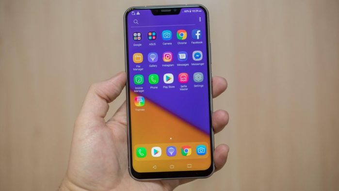 Asus Zenfone 5Z aggiornamento firmware luglio 2018