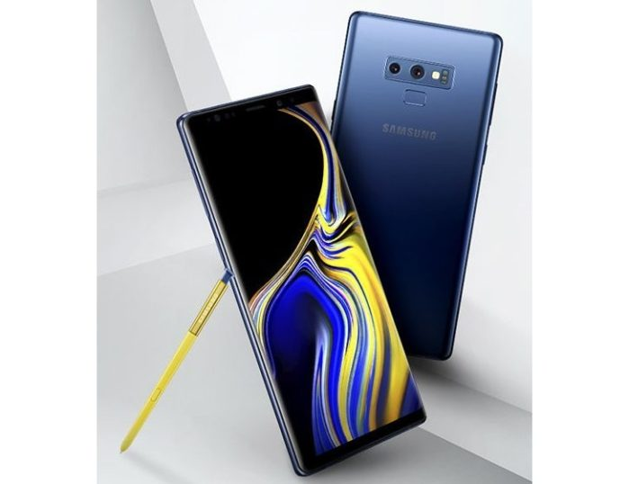 Galaxy Note 9 render ufficiale