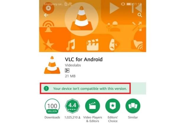 VLC abbandona gli smartphone Huawei per le scarse prestazioni