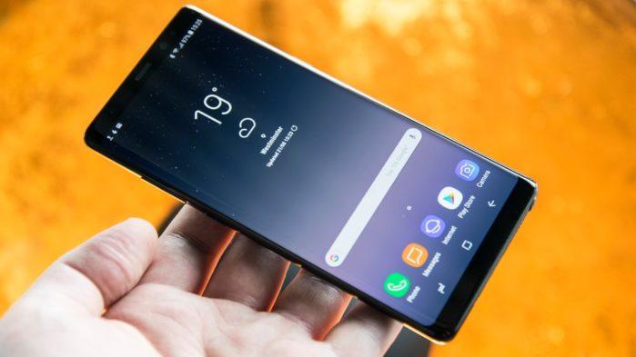 Galaxy Note 8 firmware luglio 2018